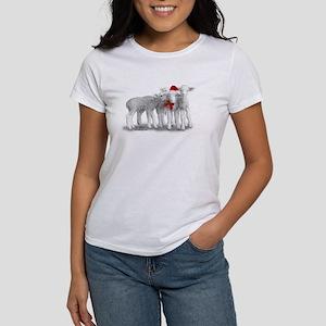 Christmas Hat Lambs T-Shirt