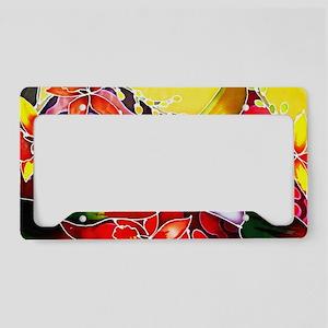 No. 005 Batik Art Asia Master License Plate Holder