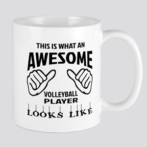 This is what an awesome Volleyball play Mug
