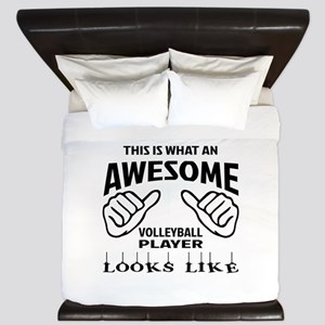 This is what an awesome Volleyball play King Duvet