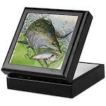 Top Water Trout Keepsake Box