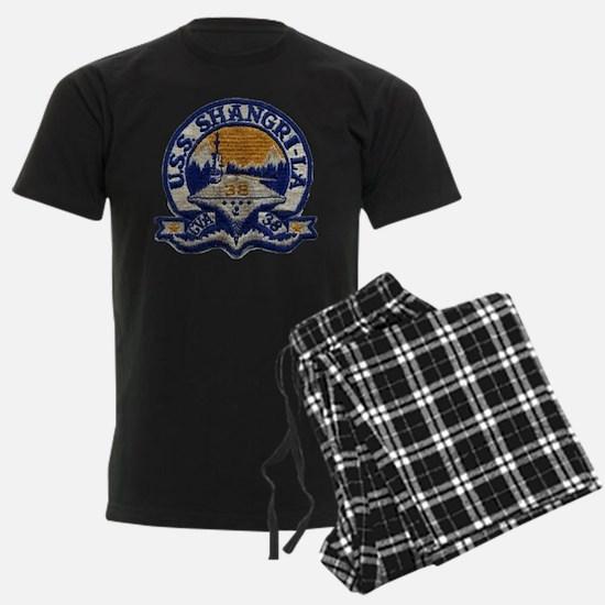 uss shangri-la cva patch Pajamas