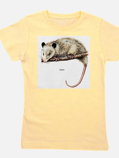 Opossum Possum Ash Grey T-Shirt