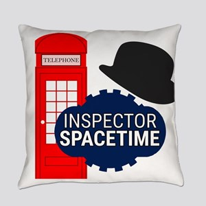 Inspector Spacetime Everyday Pillow