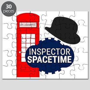 Inspector Spacetime Puzzle
