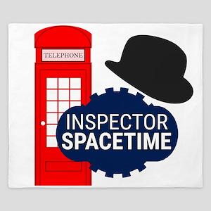 Inspector Spacetime King Duvet