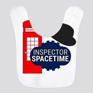 Inspector Spacetime Polyester Baby Bib