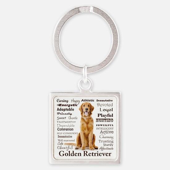 Golden Traits Keychains