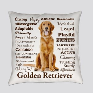 Golden Traits Everyday Pillow