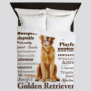 Golden Traits Queen Duvet