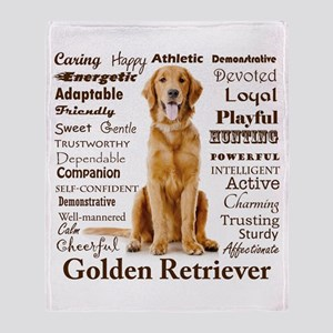 Golden Traits Throw Blanket