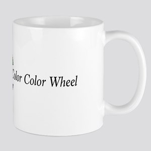 The Hair Color Color Wheel With Descriptions Mugs