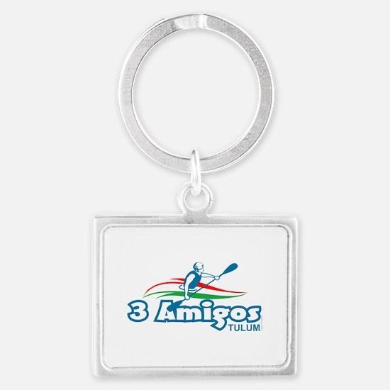 3 Amigos Tulum Keychains