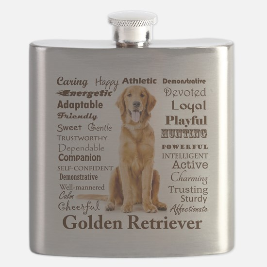 Golden Traits Flask