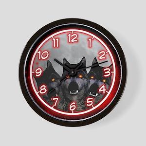 Cerberus Wall Clock