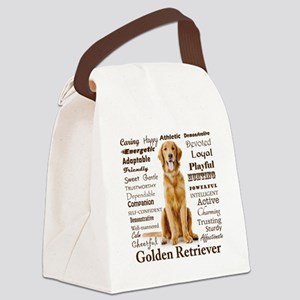 Golden Traits Canvas Lunch Bag