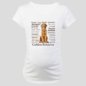 Golden Traits Maternity T-Shirt