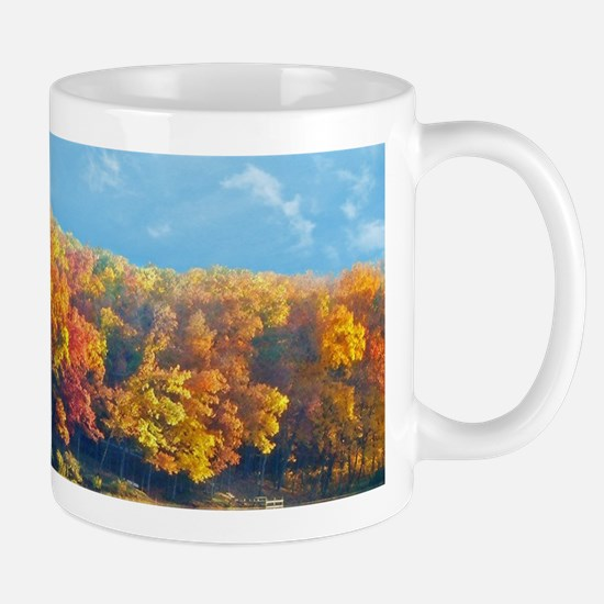 Autumn at the Lake Mugs