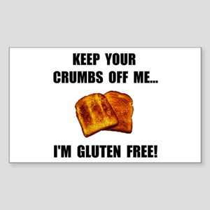 Crumbs Off Me Gluten Free Sticker