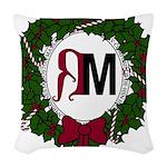 A Very RenMen Christmas 2016 Woven Throw Pillow
