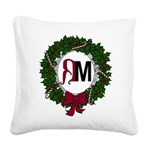 A Very RenMen Christmas 2016 Square Canvas Pillow