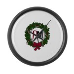 A Very RenMen Christmas 2016 Large Wall Clock