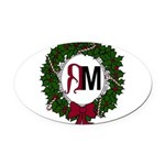 A Very RenMen Christmas 2016 Oval Car Magnet