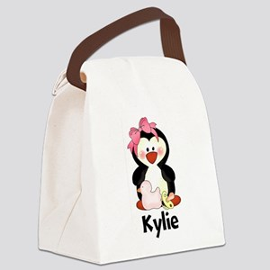 Kylie's Penguin Canvas Lunch Bag