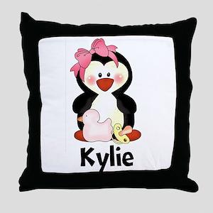 Kylie's Penguin Throw Pillow