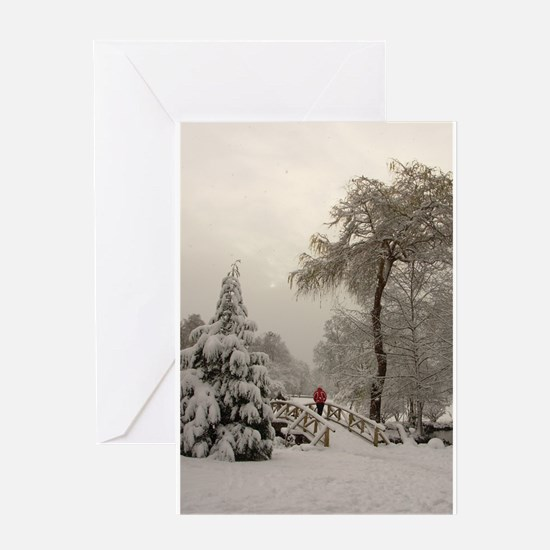 Winter Wonderland Love Card Greeting Cards