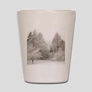 Winter Wonderland Love Shot Glass