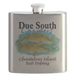 Red Fishing Flask