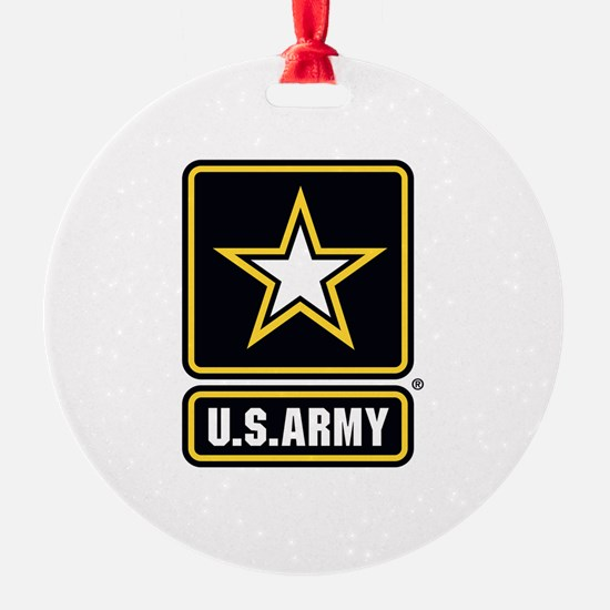 U.S. Army: U.S. Army Star Logo Ornament