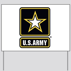 U.S. Army: U.S. Army Star Logo Yard Sign
