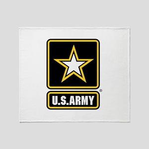 U.S. Army: U.S. Army Star Logo Throw Blanket