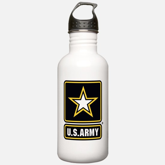 U.S. Army: U.S. Army Star Logo Water Bottle