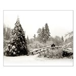 Winter Wonderland Christmas Love Small Poster
