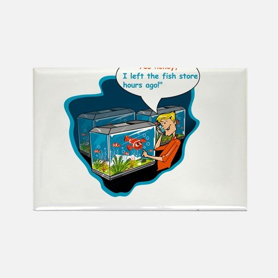 LTR - Left The Fish Store Hours Ago! Magnets
