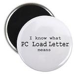 P.C. Load Letter Magnet