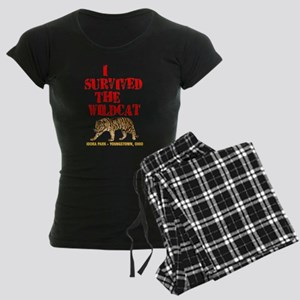 I survived the Wildcat! Women's Dark Pajamas