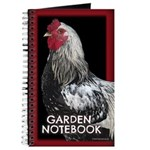 Ode To Roosters: Garden Notebook Journal