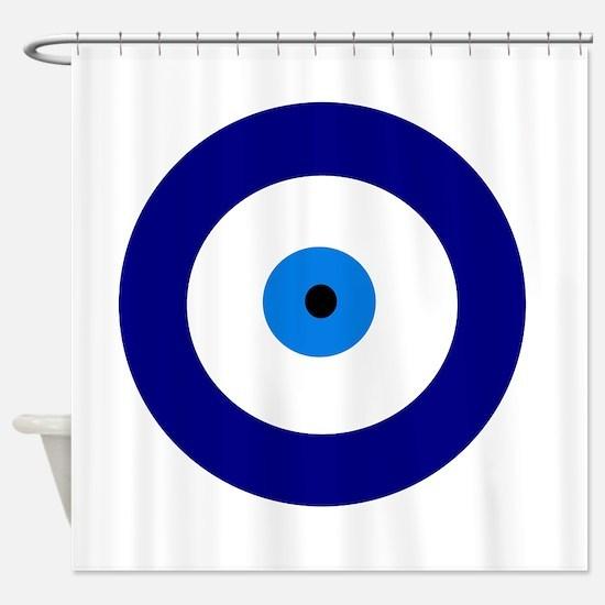Evil Eye Shower Curtain