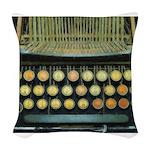 typewritermouse Woven Throw Pillow