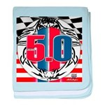 tribal 50 baby blanket