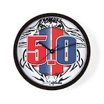 tribal 50 Wall Clock