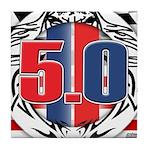 tribal 50 Tile Coaster