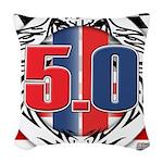 tribal 50 Woven Throw Pillow