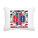 tribal 50 Rectangular Canvas Pillow