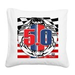 tribal 50 Square Canvas Pillow