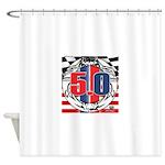 tribal 50 Shower Curtain